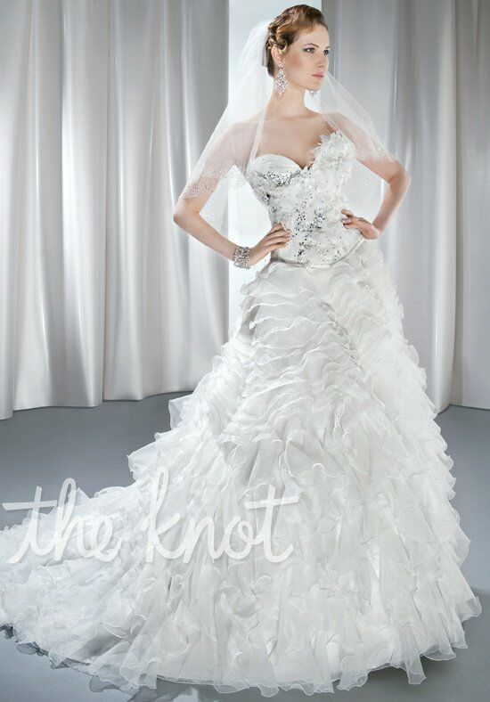 Demetrios 2859 A-Line Wedding Dress