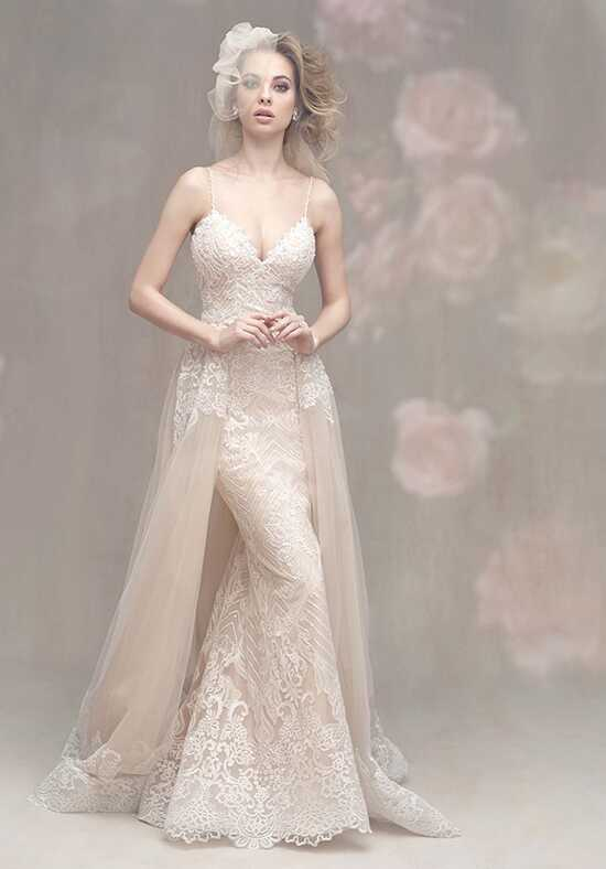 Allure Couture C458 Sheath Wedding Dress