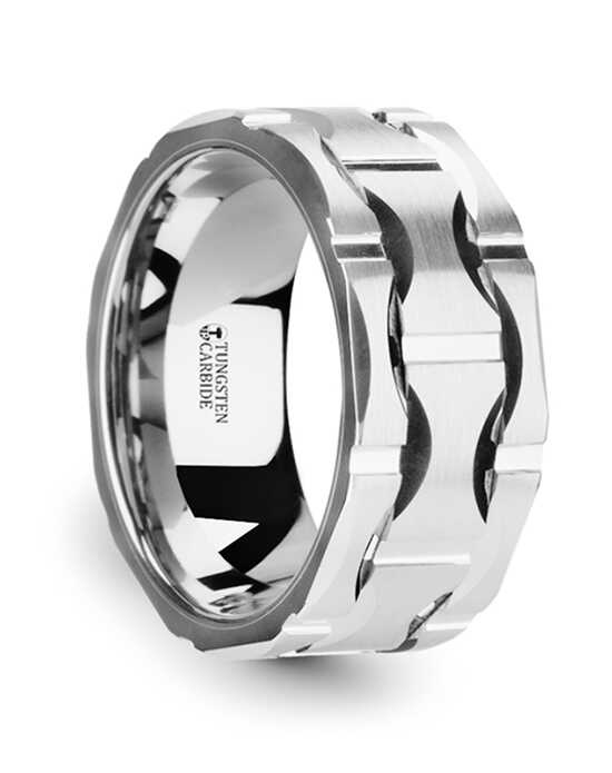 Mens Tungsten Wedding Bands W3760-TCMG Tungsten Wedding Ring