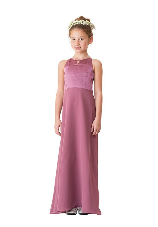 Bari Jay Bridesmaids 1654-JR Halter Bridesmaid Dress