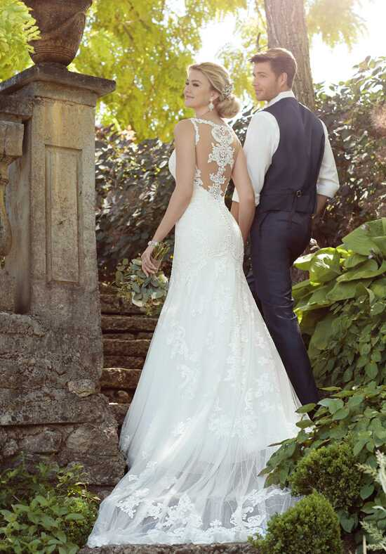 essense of australia d2208 mermaid wedding dress