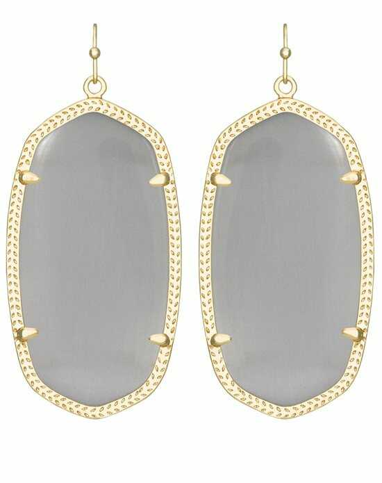 Kendra Scott Danielle Gold Earrings in Slate Wedding Earring photo