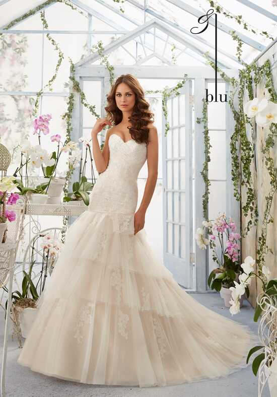 Morilee by Madeline Gardner/Blu 5405 Mermaid Wedding Dress