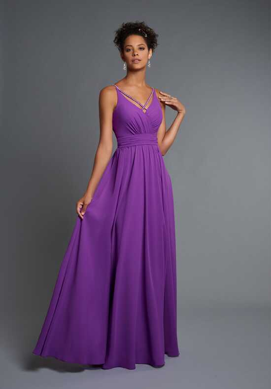 1 Wedding by Mary's Modern Maids M1842 V-Neck Bridesmaid Dress
