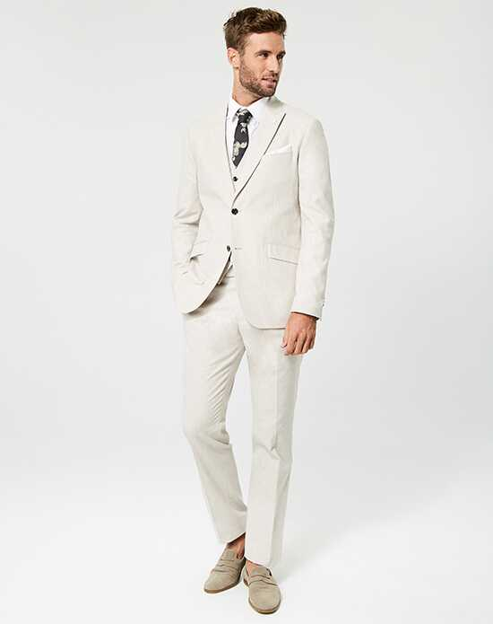 LE CHÂTEAU Wedding Boutique Tuxedos MENSWEAR_361218_053 Ivory, Champagne Tuxedo