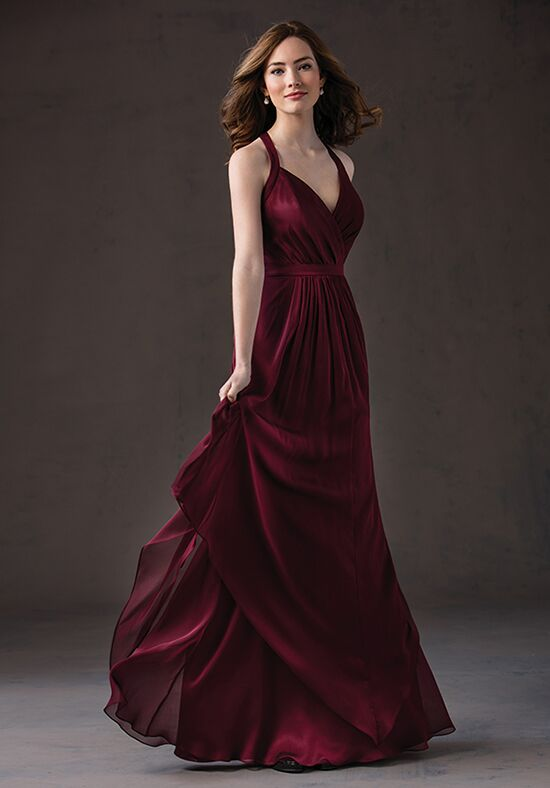 Belsoie L184058 Halter Bridesmaid Dress