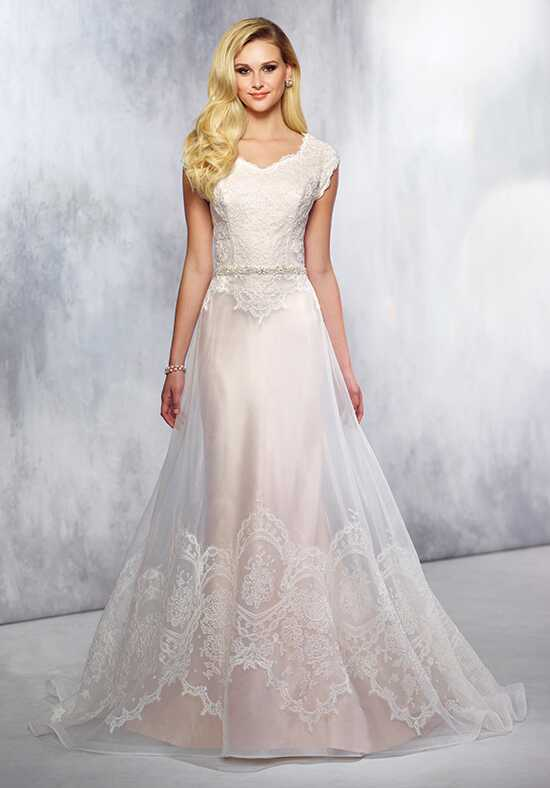 Modest by Mon Cheri TR21720 A-Line Wedding Dress