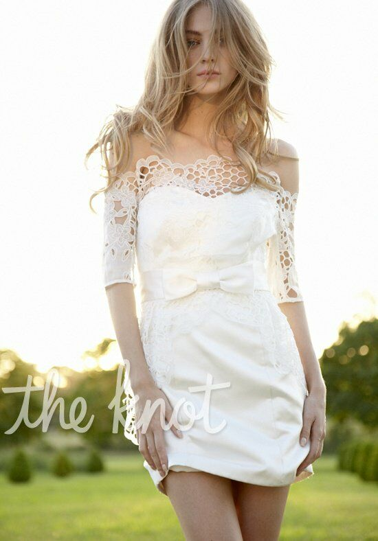 Hayley Paige 6251 Sheath Wedding Dress