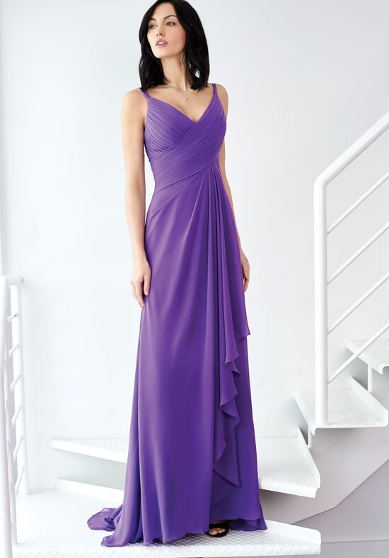 Colour by Kenneth Winston 5239L V-Neck Bridesmaid Dress