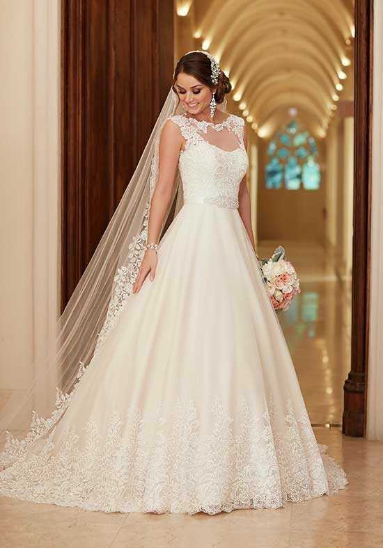 Stella York 6152 A-Line Wedding Dress