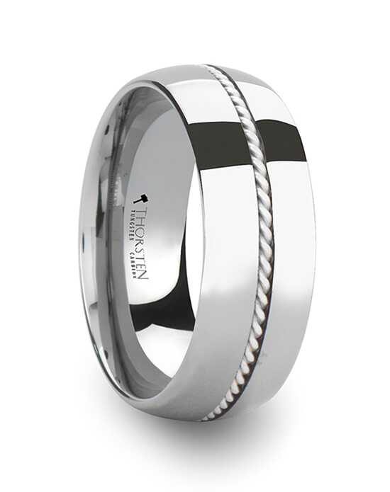 Mens Tungsten Wedding Bands W365-DSBH Tungsten Wedding Ring