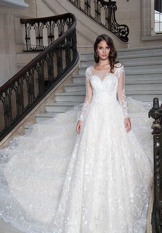 Lo' Adoro M621 Ball Gown Wedding Dress