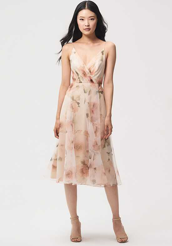Jenny Yoo Collection (Maids) Sabrina V-Neck Bridesmaid Dress