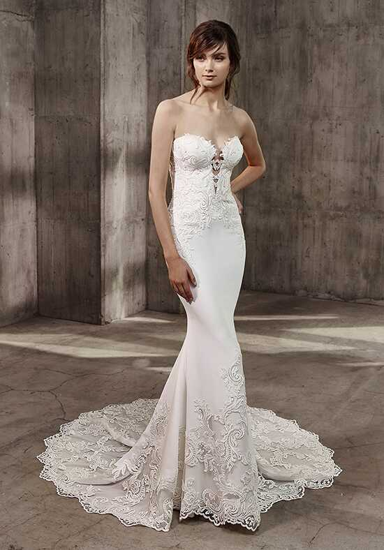 Badgley Mischka Belle Autumn Mermaid Wedding Dress