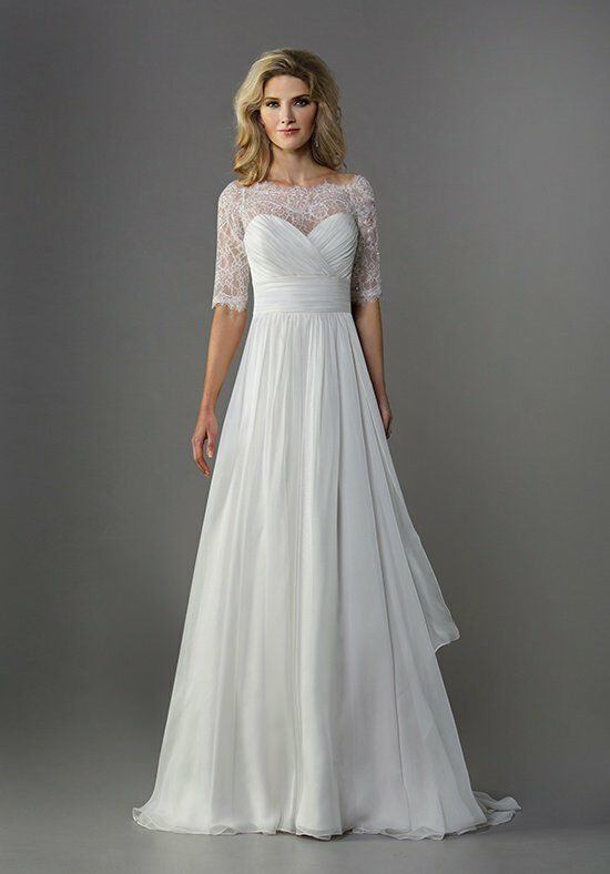 Jasmine collection f161070 wedding dress the knot for How do you preserve a wedding dress