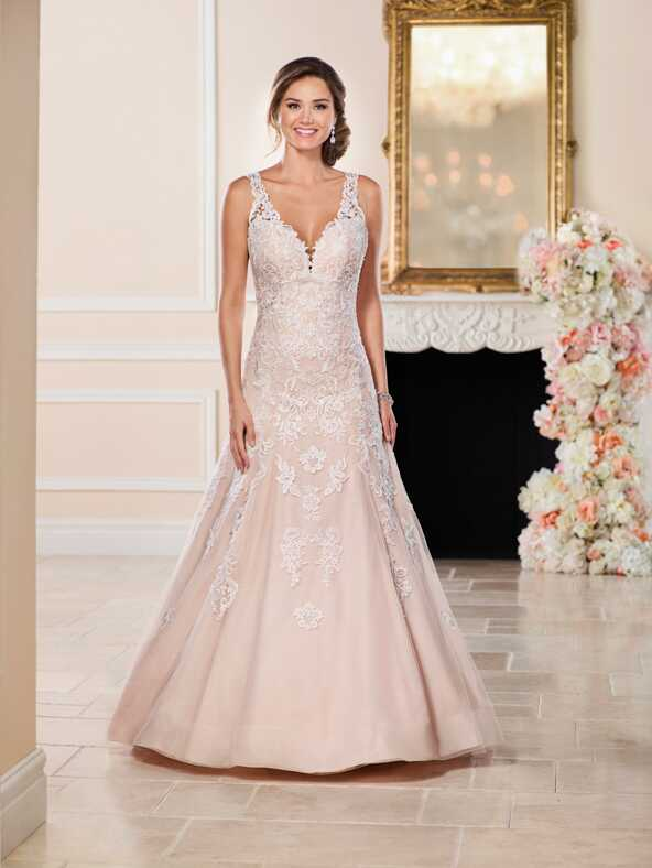 Stella York 6498 A-Line Wedding Dress