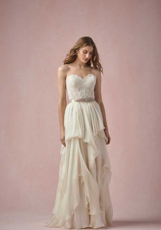 Willowby by Watters Bianca Corset 55131 / Grace Skirt 55545 A-Line Wedding Dress