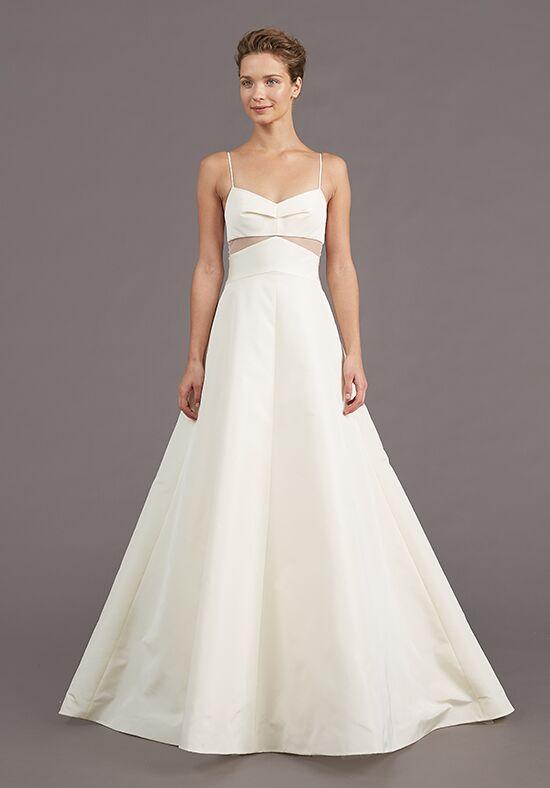 Amsale myra wedding dress the knot for Amsale wedding dress price