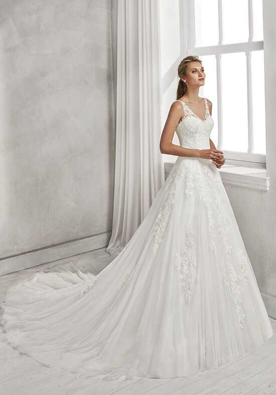 Luna Novias HELEC A-Line Wedding Dress