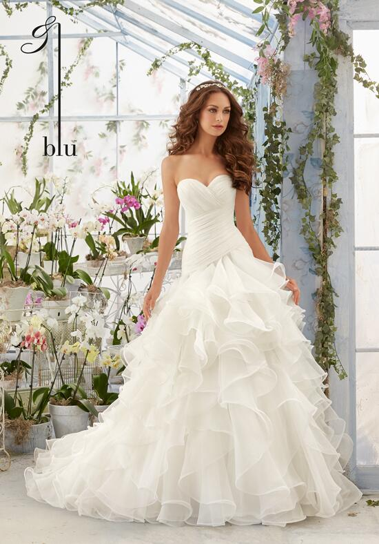 Blu by Madeline Gardner 5412 Wedding Dress photo