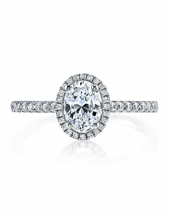 MARS Fine Jewelry Oval Cut Engagement Ring