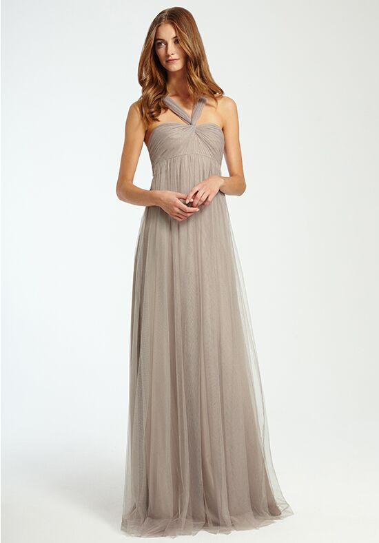 Monique Lhuillier Bridesmaids 450347 Halter Bridesmaid Dress