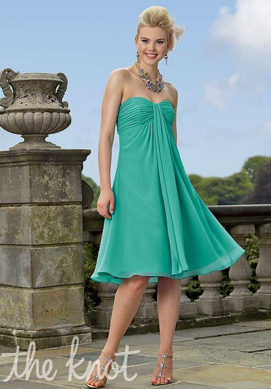 Jordan 144 Strapless Bridesmaid Dress