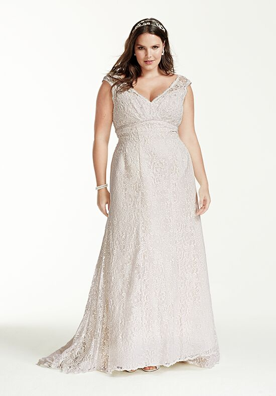 David's Bridal David's Bridal Collection Style 9T9612 Mermaid Wedding Dress