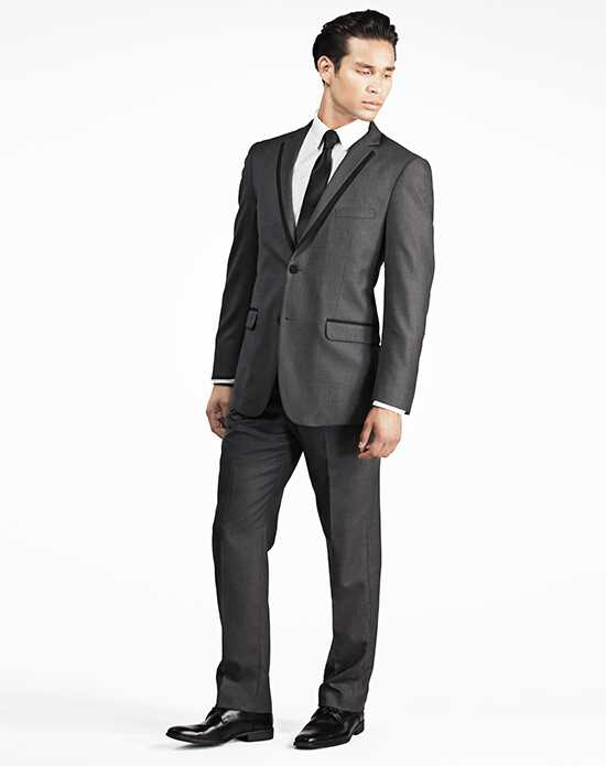 Generation Tux Charcoal Gray Notch Lapel Tux Gray Tuxedo