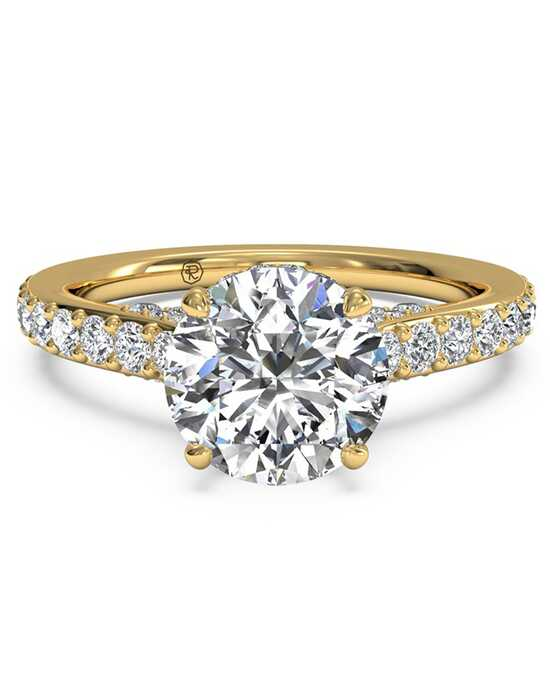 t tw carat in ct gold couplez engraved solitaire engagement ring w yellow rings jewellery hand