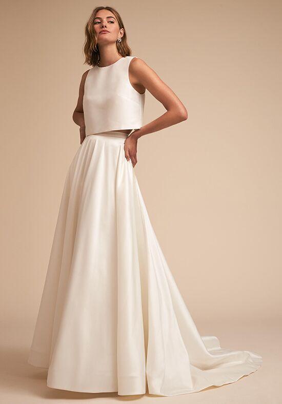 BHLDN Clarice Top Marissa Skirt Wedding Dress