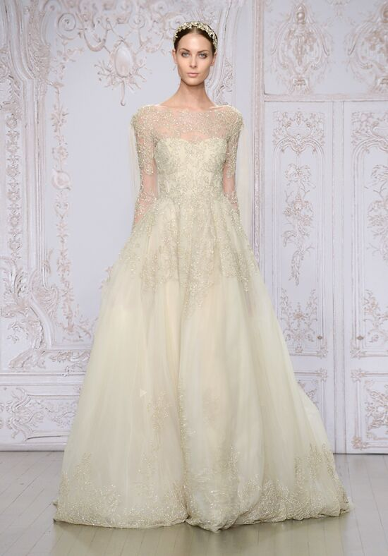 Monique Lhuillier Elizabeth Wedding Dress - The Knot