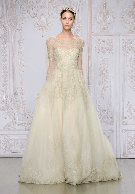 Monique Lhuillier Elizabeth A-Line Wedding Dress
