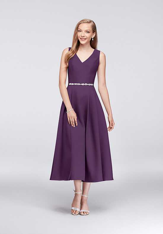 Oleg Cassini Exclusively at David's Bridal Bridesmaid Dresses Oleg Cassini Style OC290027 V-Neck Bridesmaid Dress