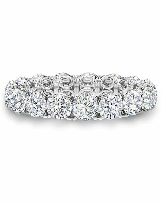 Forevermark Diamonds SILK ETERNITY BAND/656819 Palladium Wedding Ring