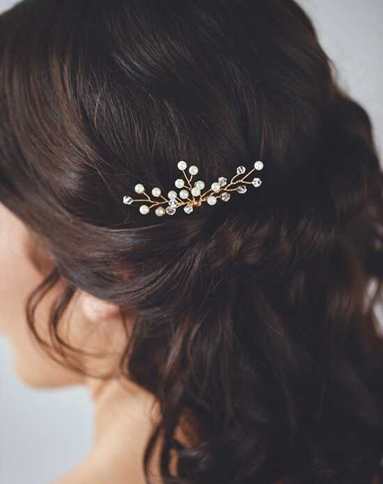 Davie & Chiyo | Hair Accessories & Veils Aurae Hairpin Gold, Silver Pins, Combs + Clip