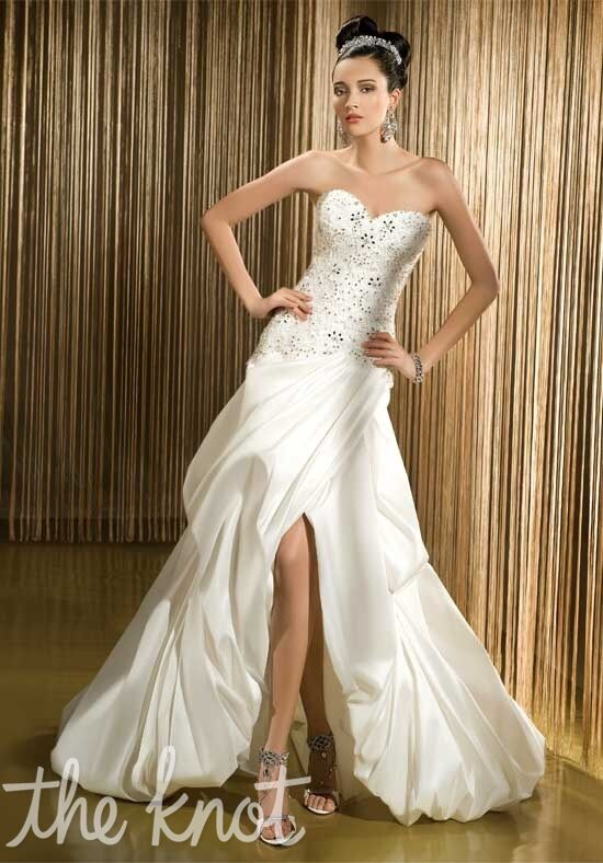 Demetrios 515 Mermaid Wedding Dress