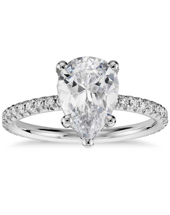 Blue Nile Studio Pear Cut Engagement Ring