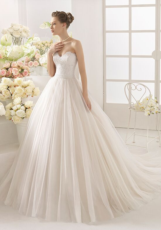 Aire Barcelona Capri Ball Gown Wedding Dress