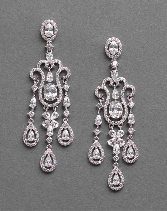 Dareth Colburn Exquisite Aurora CZ Earrings Wedding Earring photo