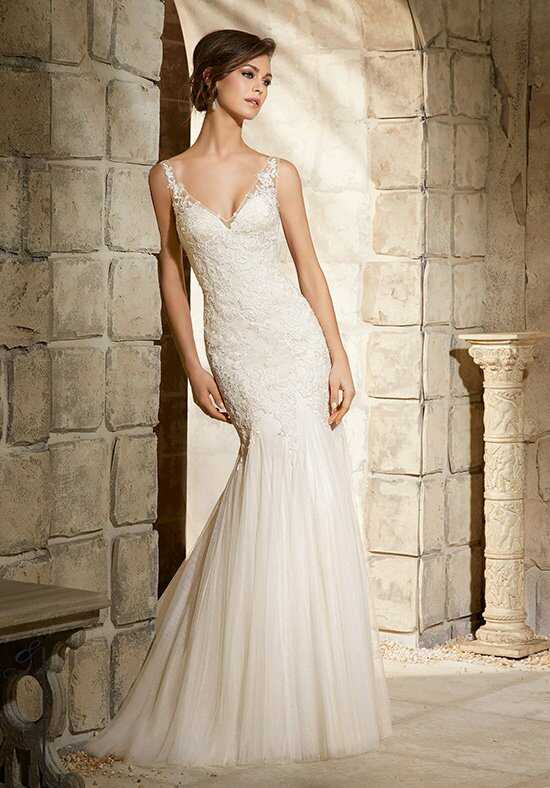 Morilee by Madeline Gardner/Blu 5365 Sheath Wedding Dress