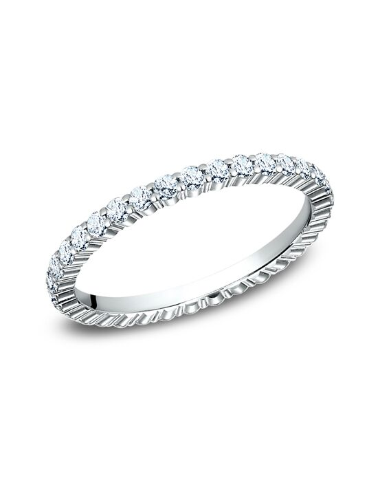 Benchmark 552623W White Gold Wedding Ring