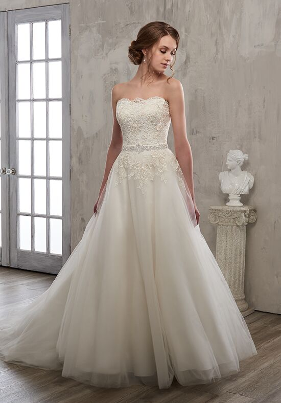 1 Wedding by Mary's Bridal 6606 Ball Gown Wedding Dress