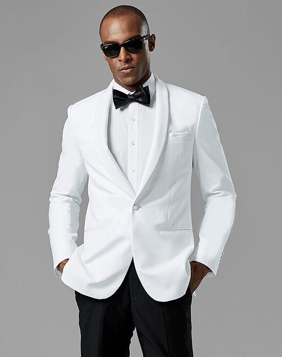 f474d9c8ca6e Generation Tux White Shawl Lapel Tuxedo Wedding Tuxedo | The Knot