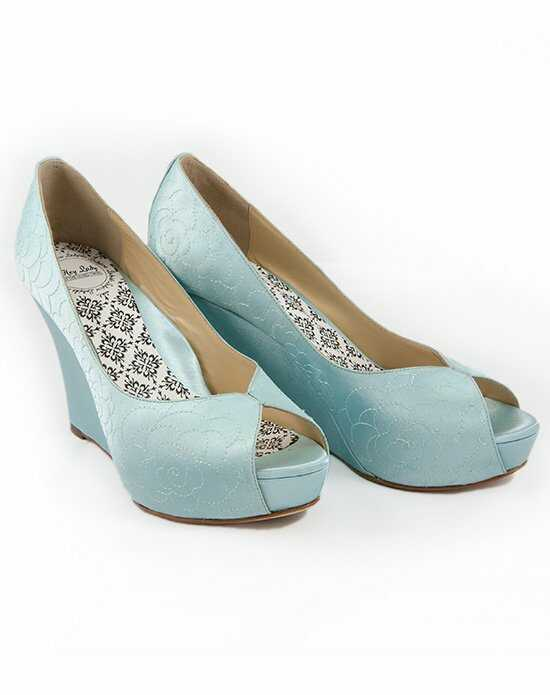 Hey Lady Shoes Lady Buttons garden wedge Shoe