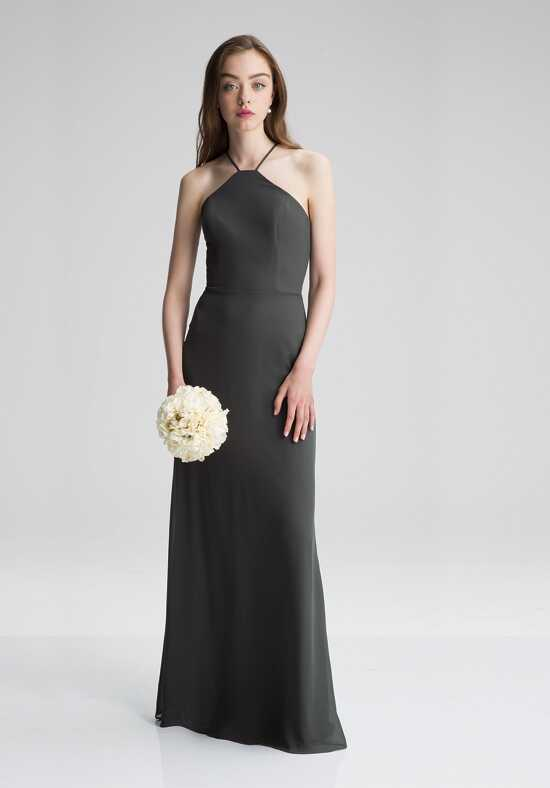 #LEVKOFF 7007 Halter Bridesmaid Dress