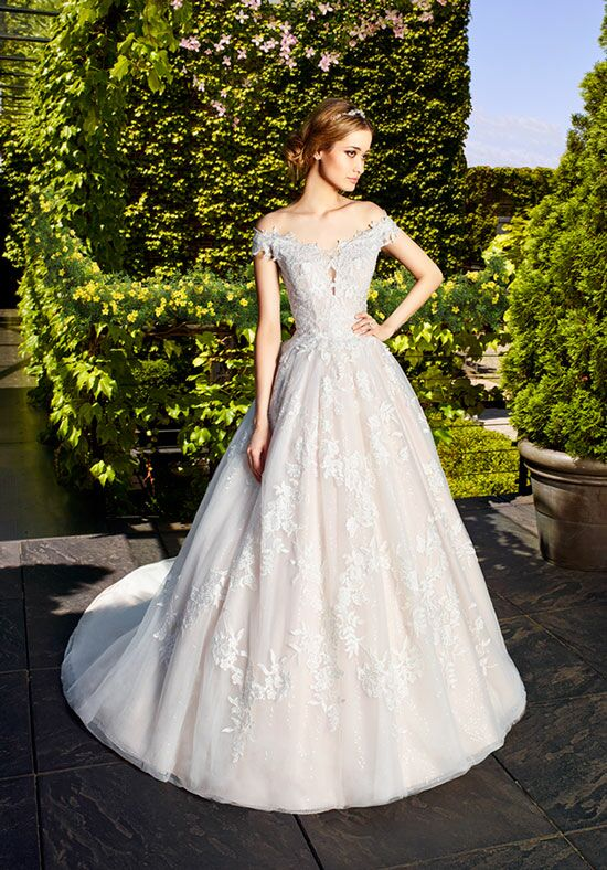 Moonlight Couture H1323 Ball Gown Wedding Dress