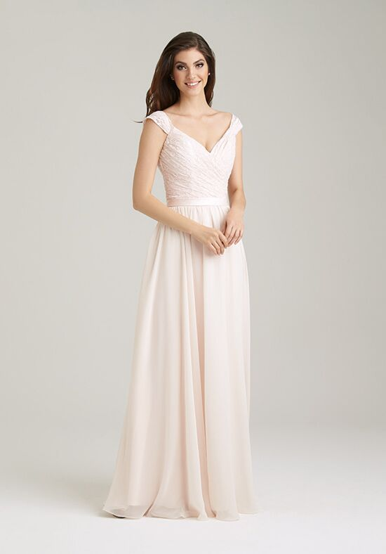 Allure Bridesmaids 1463 V-Neck Bridesmaid Dress