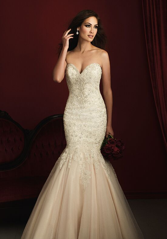 Allure Couture C363 Mermaid Wedding Dress