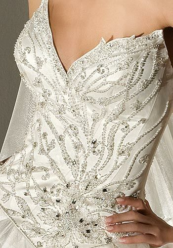 Demetrios 2858 Ball Gown Wedding Dress